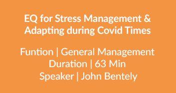 EQ For Stress Management