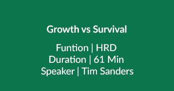 Growth Vs Survival