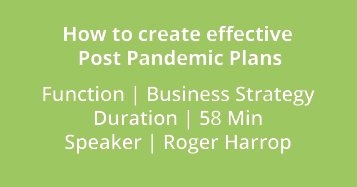 How To Create Effective Post Pandemic Plans