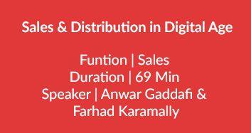 Sales & Distribution