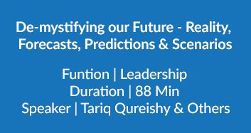 De Mystifying Our Future