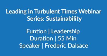 Turbulent Times Webinar
