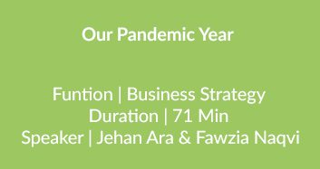 Our Pandemic Year