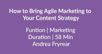 Marketing To Your Content Strategy
