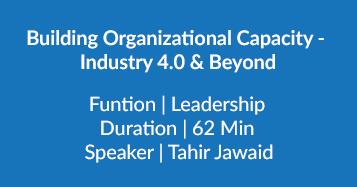 Building Organizational Capacity