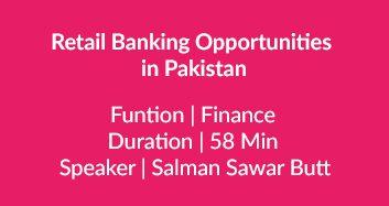 Banking Opportunities In Pakistan