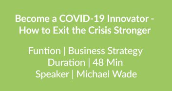 Exit The Crisis Stronger