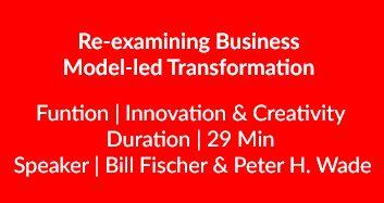Business Model-led Transformation