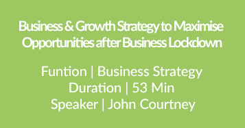 Opportunities After Business Lockdown