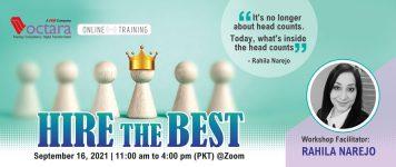 September 16, 2021   11 To 4pm(PKT) Via Zoom