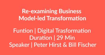 Model-led Transformation
