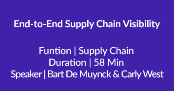 End-to-End Supply Chain Visibility